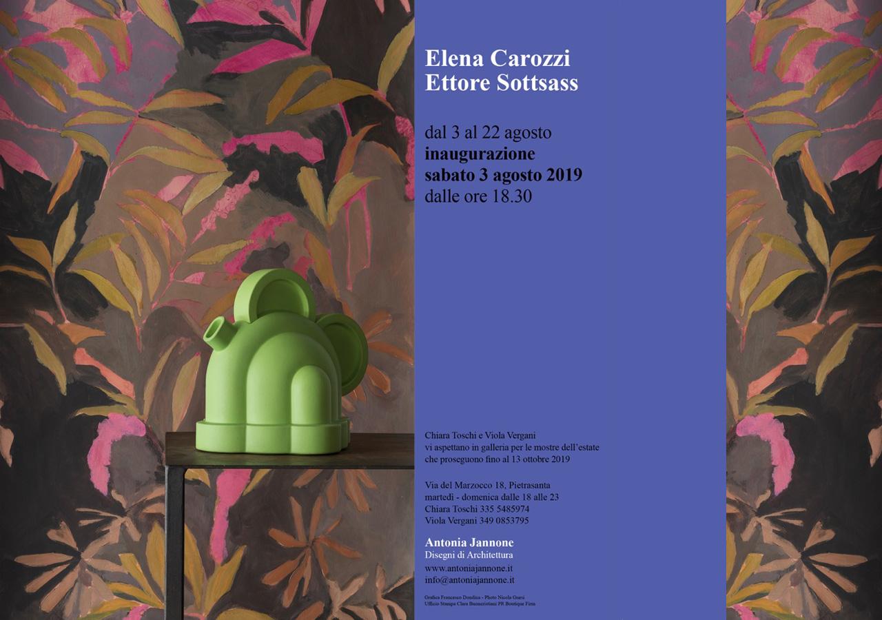 Elena Carozzi hand painted wallpaper